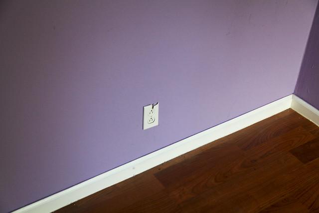 Second Bedroom Damages