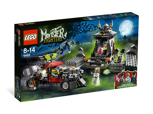 LEGO Monster Fighters 9465 The Zombies