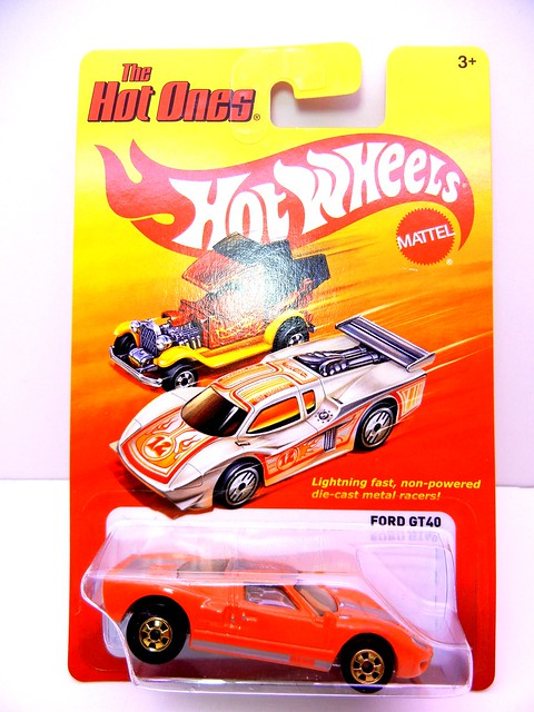 hot wheels hot ones ford gt40  (1)