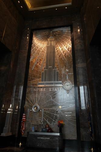 Empire State Bulding intérieur