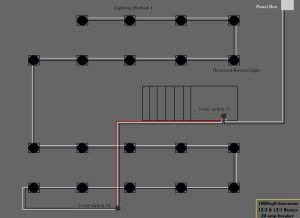 Recessed Lighting Wiring Diagram Question  DoItYourself