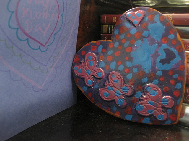 Missy's Card and Painted Heart