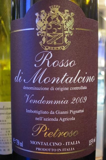 Pietroso Rosso di Montalcino 2009