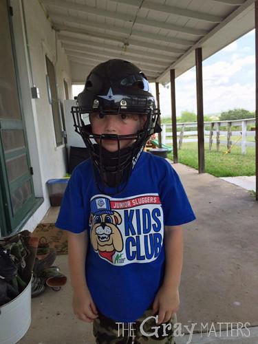 Catcher Helmet