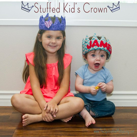 Stuffed Kid's Crown