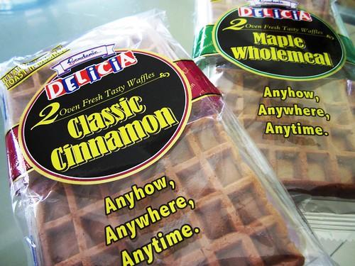 Gardenia waffles