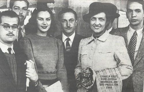 Lygia Fagundes Telles e Cecília Meireles by lusografias