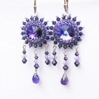 Purple Wedding Earrings | Flickr - Photo Sharing!