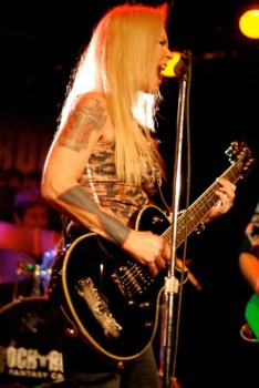 Lita Ford at Whisky a Go Go
