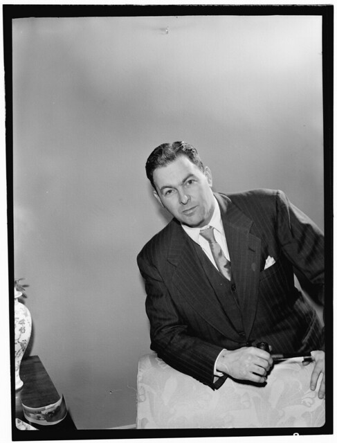 [Portrait of Irving Kolodin, New York, N.Y., between 1946 and 1948] (LOC)