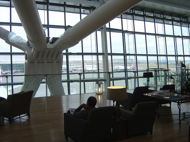 British Airways Concorde First Class Lounge Heathrow Terminal 5