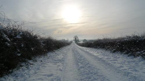 Tackley in winter