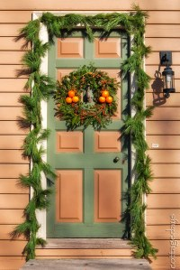Cottage Days and Journeys: Williamsburg Christmas Decorations