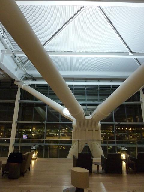 BA British Airways Concorde First Class Lounge Heathrow