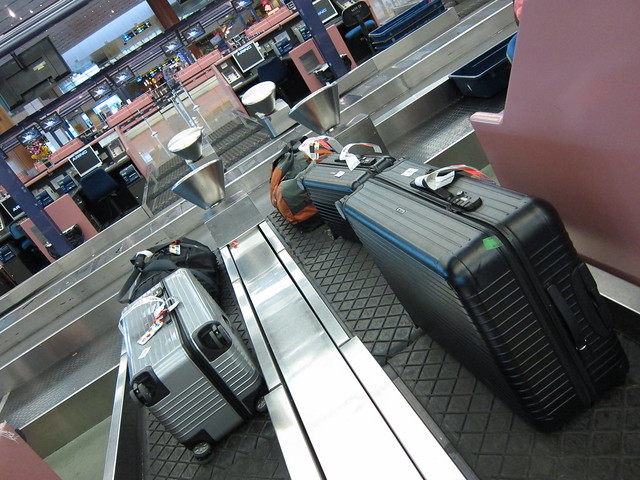 5 luggage, 30 kilos overweight, no charge :)