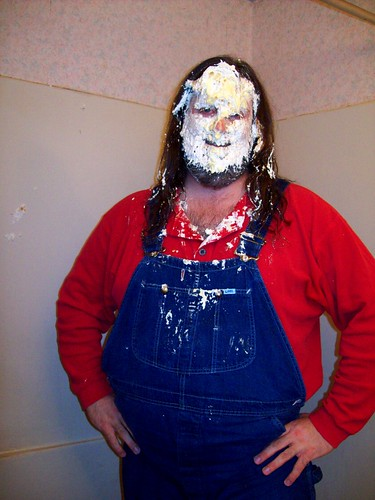 Pie in the face: Splat! The Aftermath of three coconut cream pies in my face