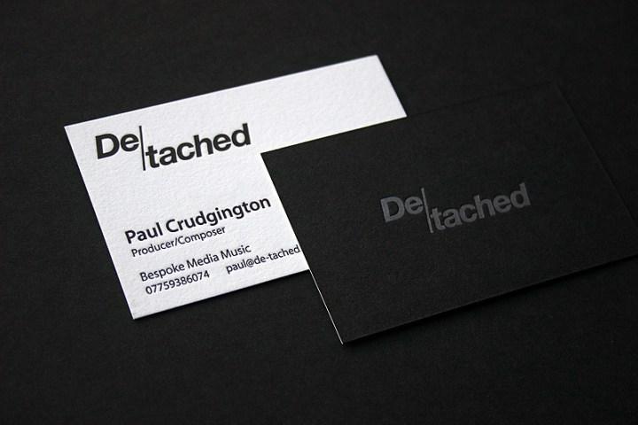 Duplex Business Card