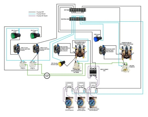 small resolution of rims tube 120 vac wiring free download wiring diagram 120v contactor wiring diagram 120v motor starter