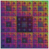 Sierpinski Carpet in Color | Flickr - Photo Sharing!