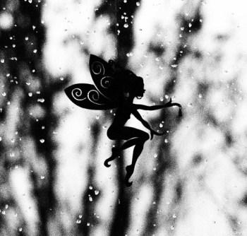 fairy b&w