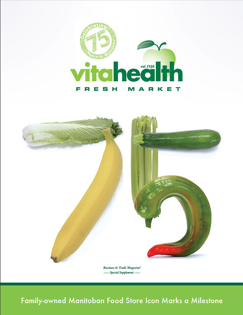 Vita Health profile cover page