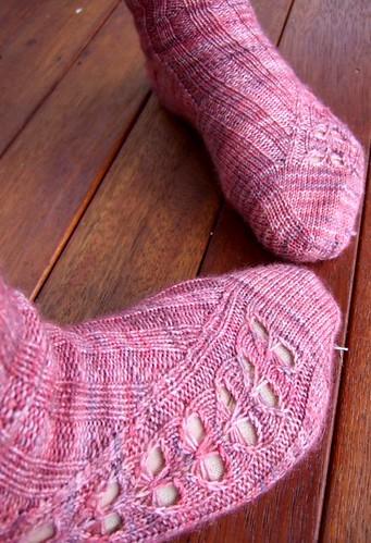 Kai-Mei socks for Adele