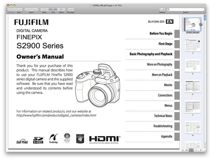 Bestseller: Fujifilm Finepix S2950 Manual Download