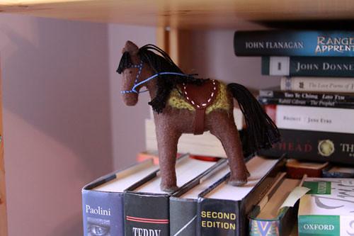 felt horse by rebecca ridout