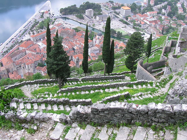 The old town of Kotor, Montenegro