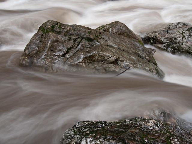 Rocks in the Little Sur, Pico Blanco, Ventana Wilderness