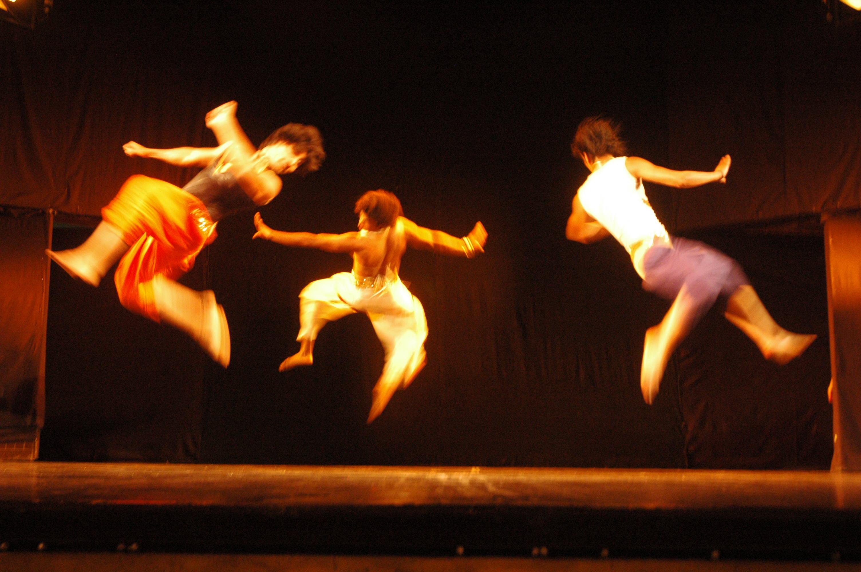 Chau, dance form with marshal art movements, Mayurbanj, India