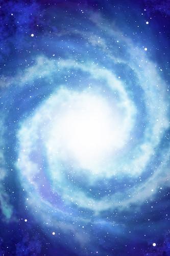 iPhone Background - Spiral Galaxy