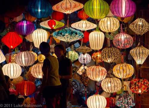 Lantern Market, An Hoi Island, Hoi An