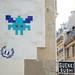 Space Invader on Rue des Martyrs