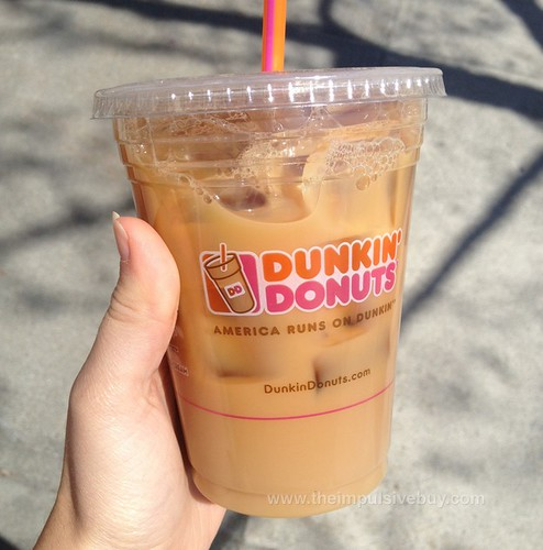 REVIEW: Dunkin' Donuts Cookie Dough Iced Coffee - The Impulsive Buy