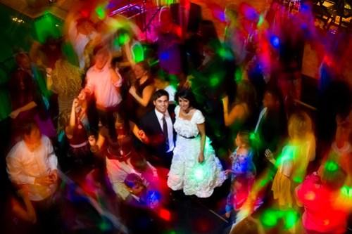 Nightclub Style Wedding