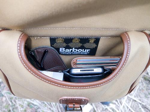 Barbour® Cartridge Bag Khaki