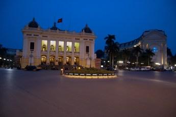 Oper im französischen Viertel