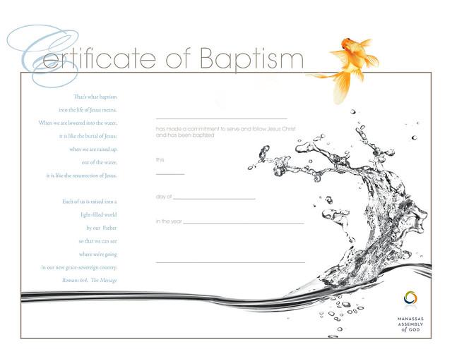 Free Baptism Certificate Template Certificatepillar