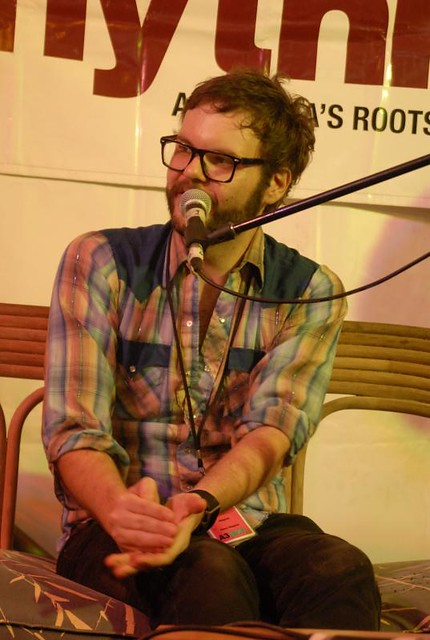 Henry Wagons at Rhythms Magazine Q&A at Bluesfest