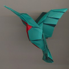 Origami Hummingbird Diagram Instructions P38 Obd Wiring The Art Of Designing And Manufacturing Masterpieces