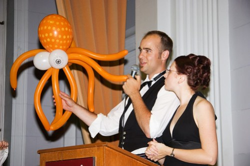 Brian and Carrie and the Octopus