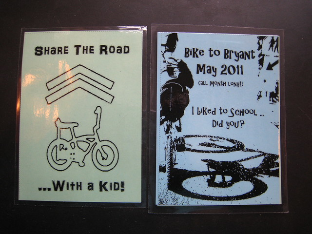 Bike to School Spoke Cards 2011