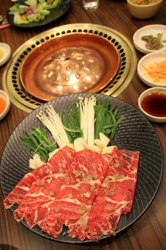 Deungsim Yangnyeom Bulgogi at Sariwon Korean Barbecue - 1