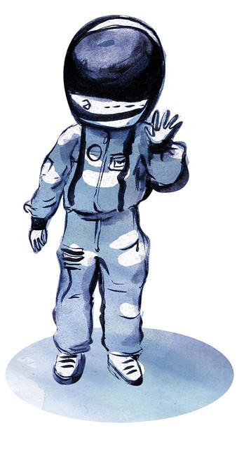 Quando crescer - astronauta