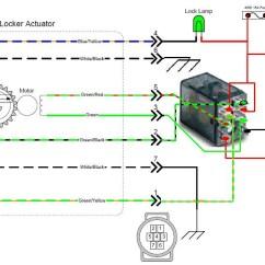 Double Pole Relay Wiring Diagram Alternator External Regulator E Locker Help Please Yotatech Forums