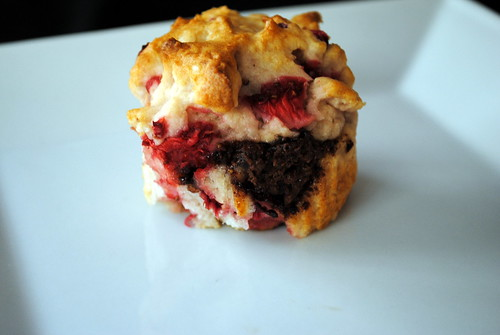 Gluten Free Strawberry Nutella Muffins