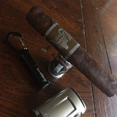 In the mood for a CAO Flathead Steel Horse Apehanger - @caocigars @xikar @cigarprop