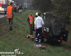 Verkehrsunfall A3 Niedernhausen 10.04.12