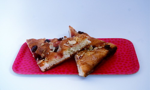 Cherry Almond Foccacia